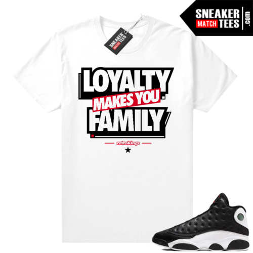 Reverse He Got Game Jordan 13 shirt Family