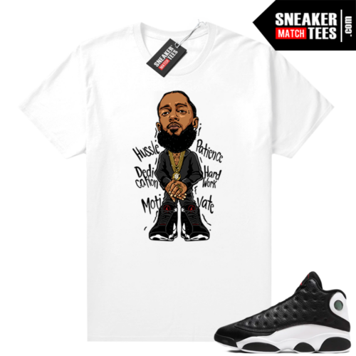 Reverse He Got Game Jordan 13 shirt Nipsey Hussle