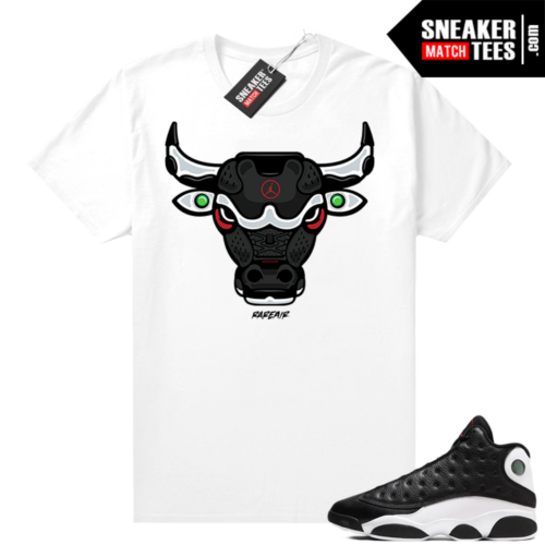 Reverse He Got Game Jordan 13 shirt Rare Air Bull