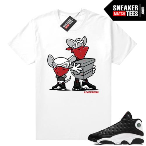 Reverse He Got Game Jordan 13 shirt Sneaker Heist