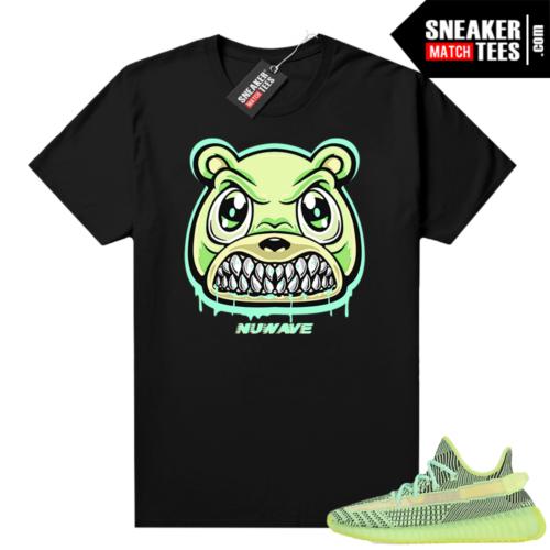 Yeezreel Yeezy 350 shirt black Angry Bear Drip