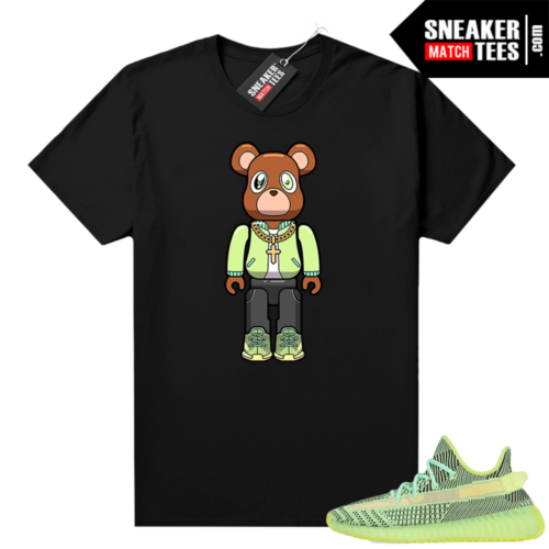Yeezreel Yeezy 350 shirt black Bear Brick