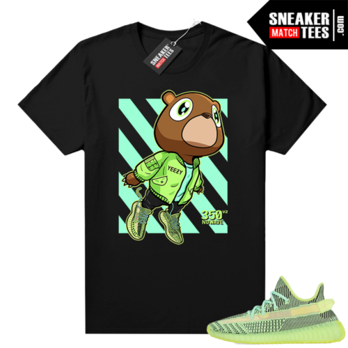 Yeezreel Yeezy 350 shirt black Boost 350 Bear