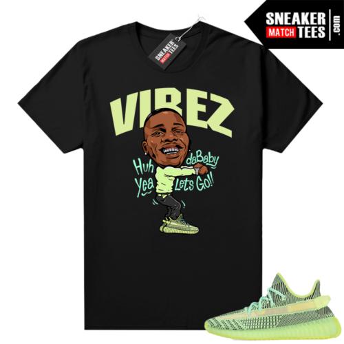 Yeezreel Yeezy 350 shirt black Dababy Vibez