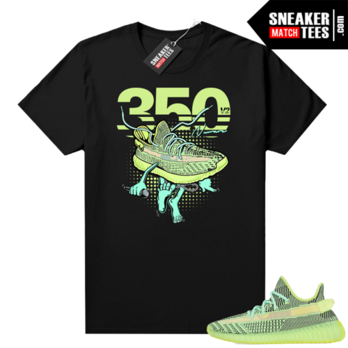 Yeezreel Yeezy 350 shirt black Fly 350s