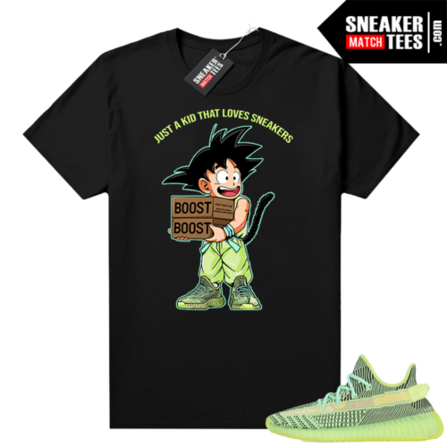 Yeezreel Yeezy 350 shirt black Just a Kid