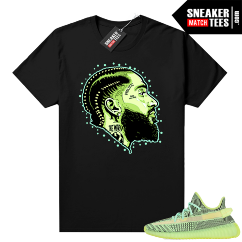 Yeezreel Yeezy 350 shirt black Prolific Version 2