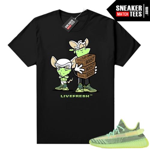 Yeezreel Yeezy 350 shirt black Sneaker Heist