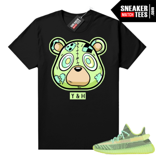 Yeezreel Yeezy 350 shirt black Y&H Bear