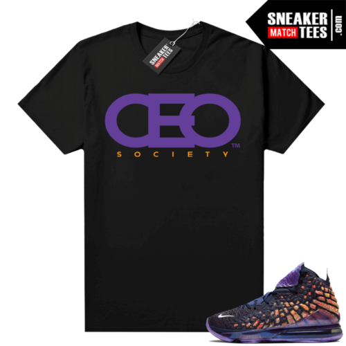 Lebron 17 Monstars shirt black CEO Society