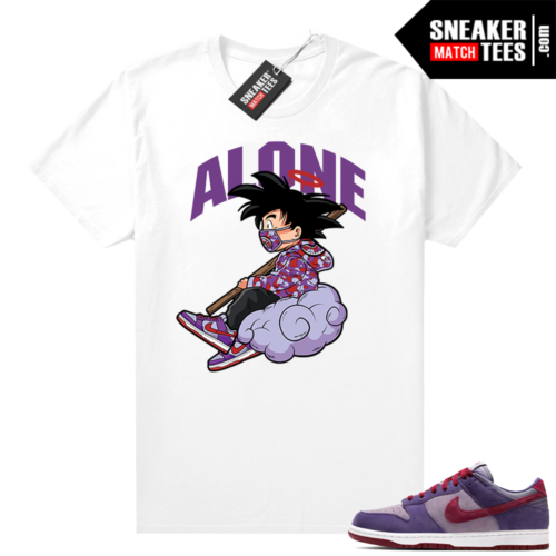 Nike Dunk Low Plum shirt Alone