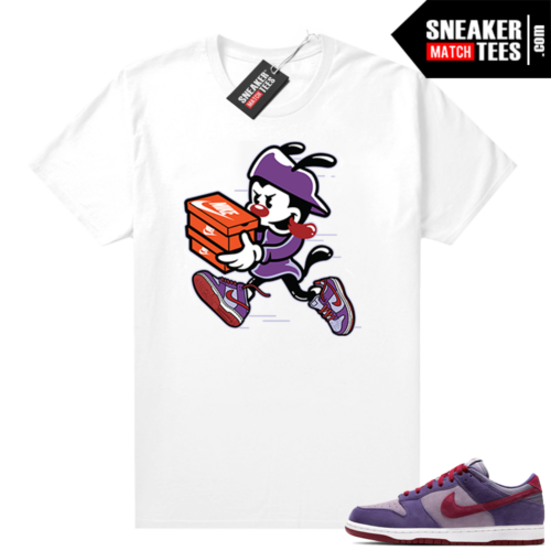 Nike Dunk Low Plum shirt Double Up