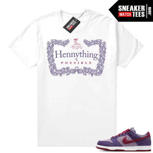 Nike Dunk Low Plum shirt Hennything