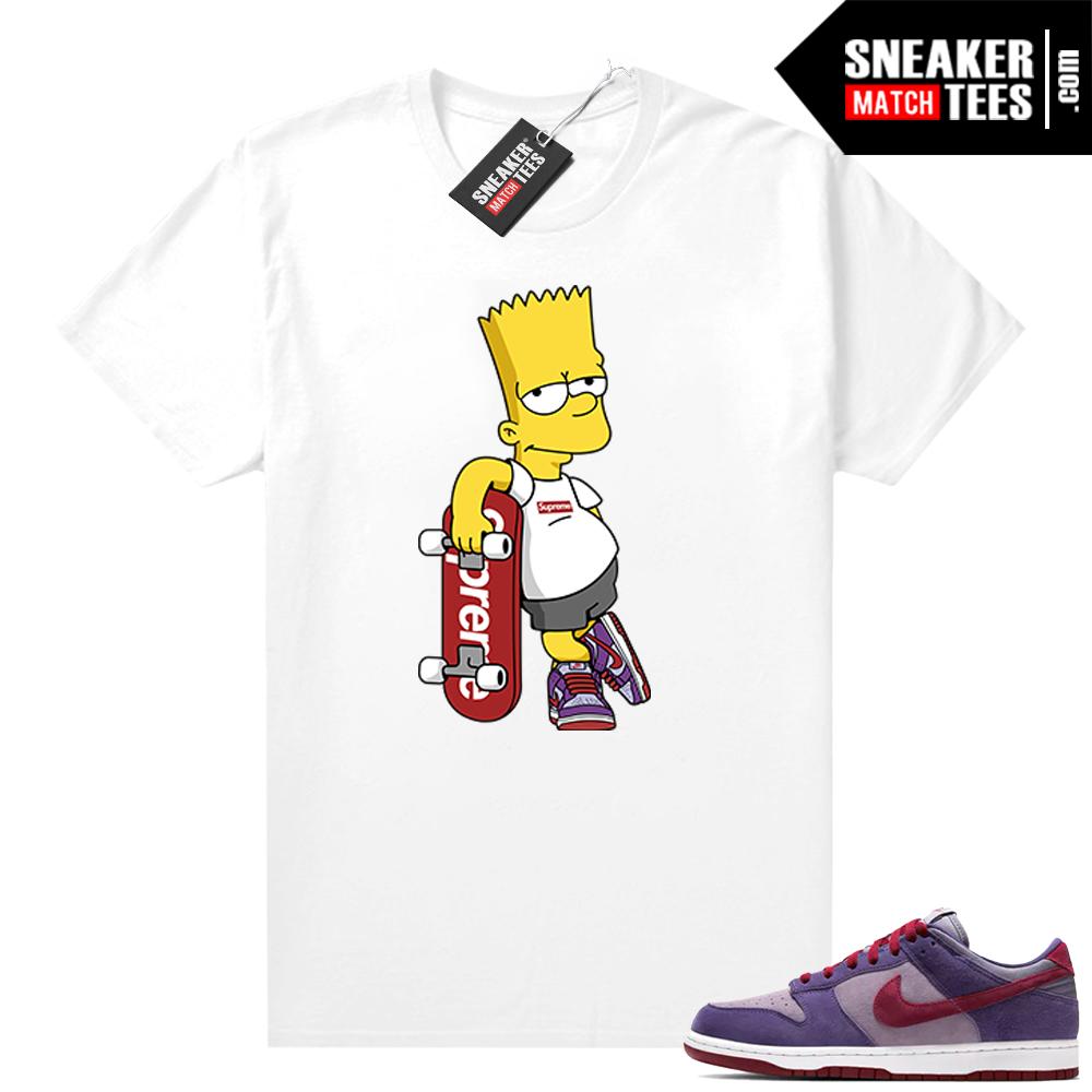 Nike Dunk Low Plum shirt SB Bart