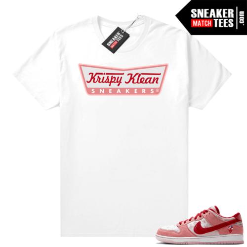 Nike SB Dunk Low StrangeLove shirt Krispy Klean Sneakers
