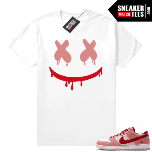 Nike SB Dunk Low StrangeLove shirt Smiley Drip