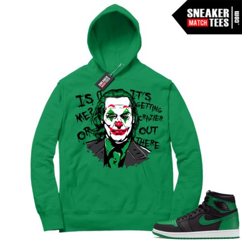 Pine Green 1s Hoodie Joker