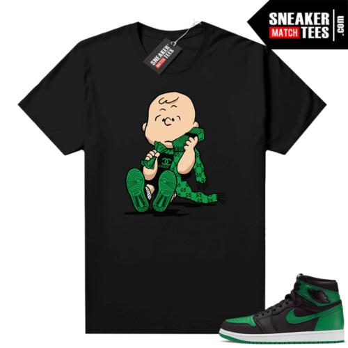 Pine Green 1s shirt Black Designer Charlie