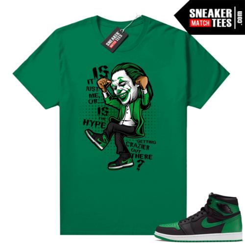 Pine Green 1s shirt Crazy Hype
