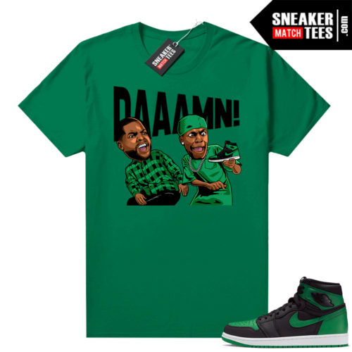 Pine Green 1s shirt DAAAMN