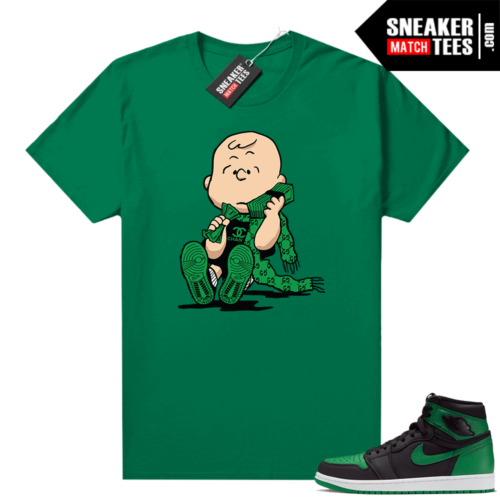 Pine Green 1s shirt Designer Charlie