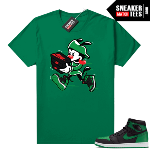 Pine Green 1s shirt Double Up