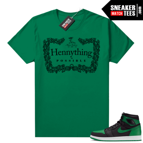 Pine Green 1s shirt Hennything