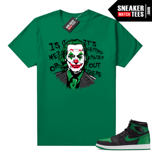 Pine Green 1s shirt Joker