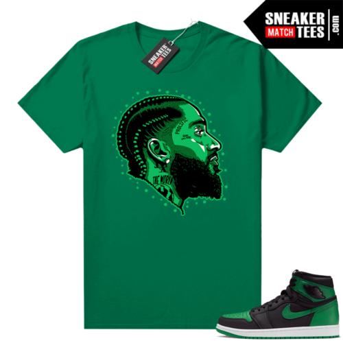 Pine Green 1s shirt Prolific