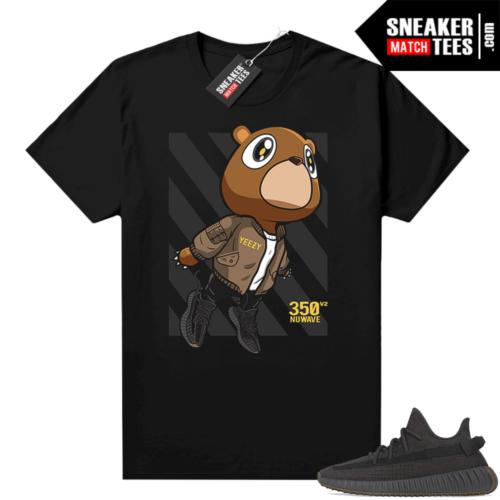 Cinder Yeezy 350 V2 shirt black Fly Bear