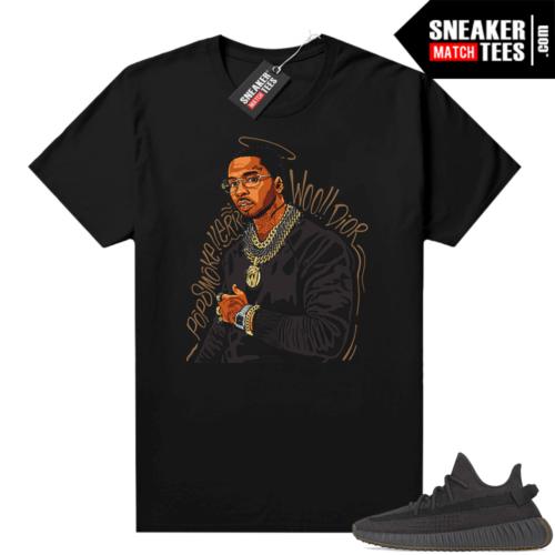 Cinder Yeezy shirt match black Pop Smoke