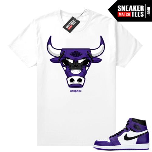 Court-Purple-1s-2-0-shirt-White-Rare-Air-Bull