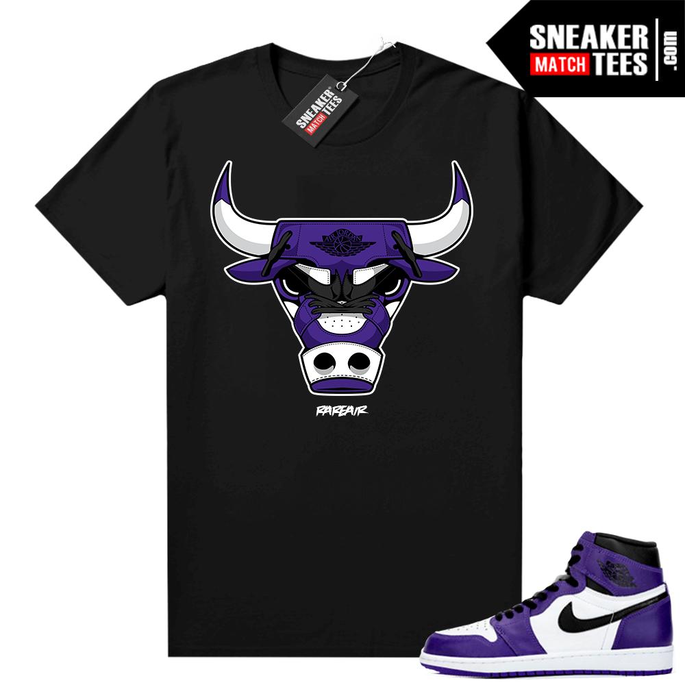 Court-Purple-1s-2-0-sneaker-shirt-Black-Rare-Air-Bull