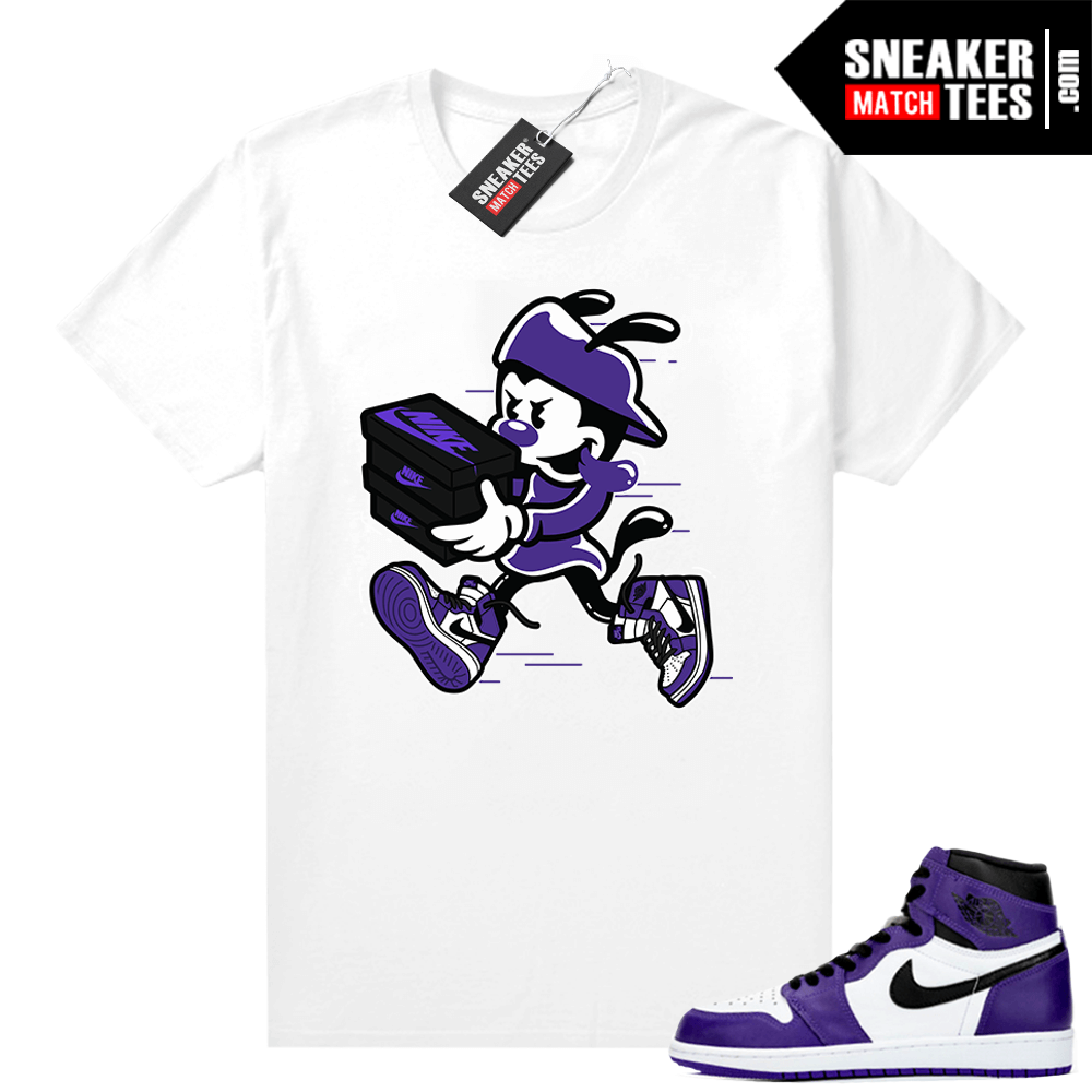 Court-Purple-1s-2-0-sneaker-shirt-White-Double-Up