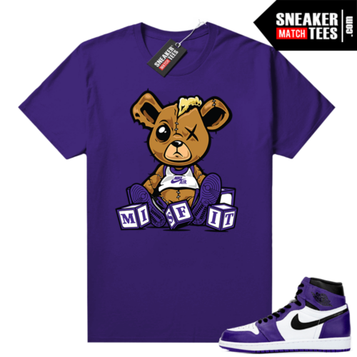 Court-Purple-1s-2-0-sneaker-tees-shirt-Purple-Misfit-Teddy