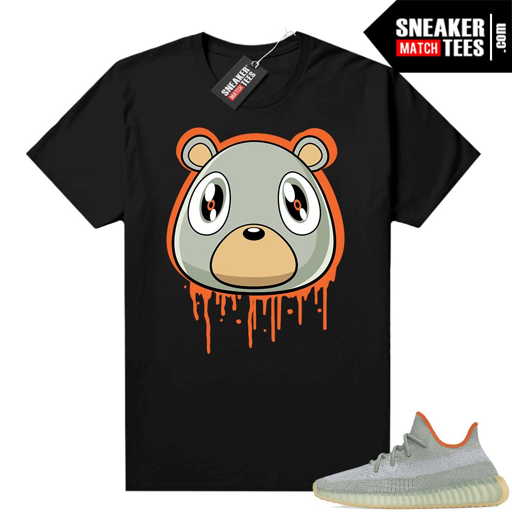 Desert Sage Yeezy 350 Shirt Black Bear Drip