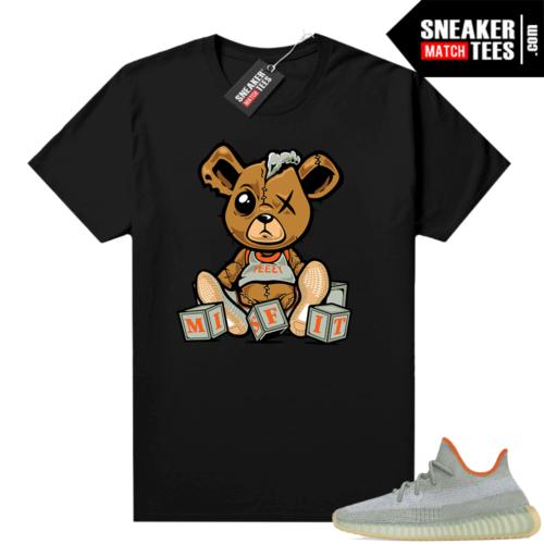 Desert Sage Yeezy 350 Shirt Black Misfit Teddy