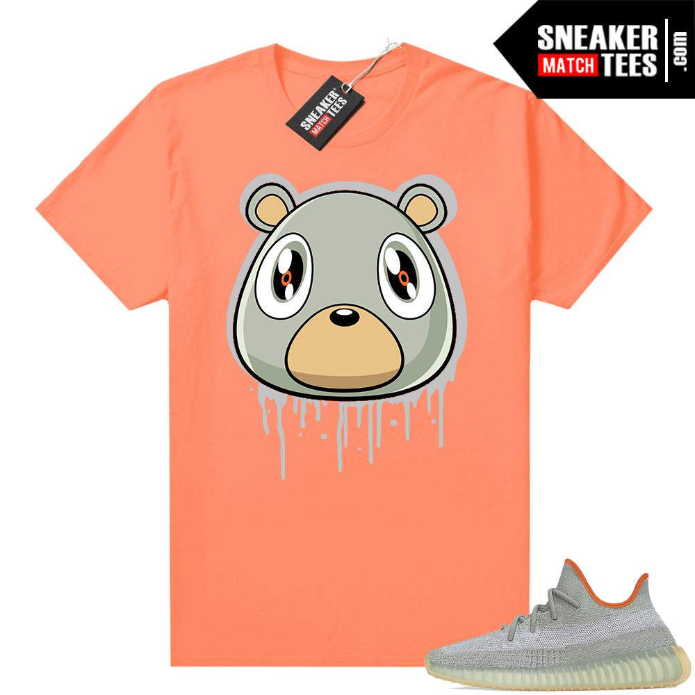 Desert Sage Yeezy 350 Shirt Hyper Orange Bear Drip