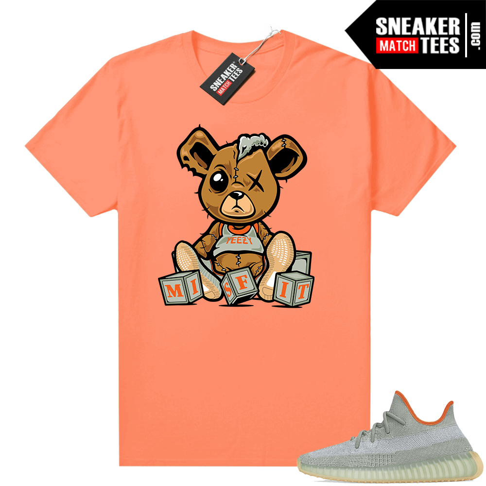 Desert Sage Yeezy 350 Shirt Hyper Orange Misfit Teddy