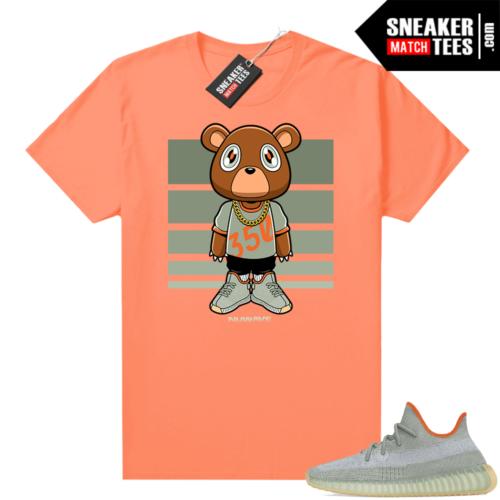 Desert Sage Yeezy 350 Shirt Hyper Orange Nuwave 350 Bear