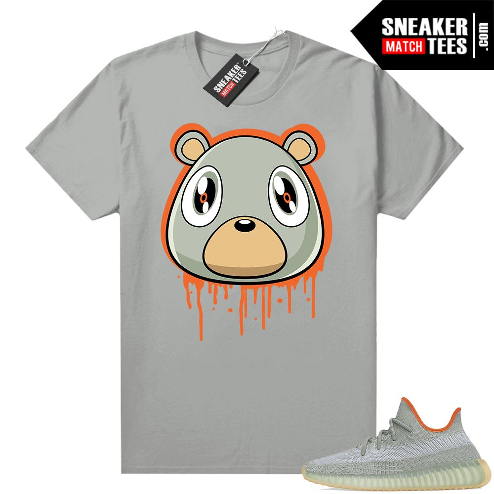 Desert Sage Yeezy 350 Shirt Platinum Bear Drip
