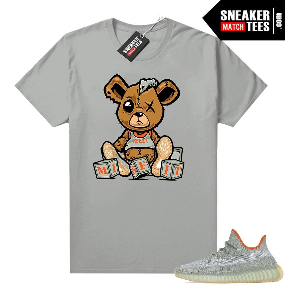 Desert Sage Yeezy 350 Shirt Platinum Misfit Teddy