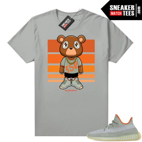 Desert Sage Yeezy 350 Shirt Platinum Nuwave 350 Bear
