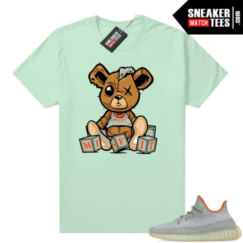 Desert Sage Yeezy 350 Shirt Sage Green Misfit Teddy