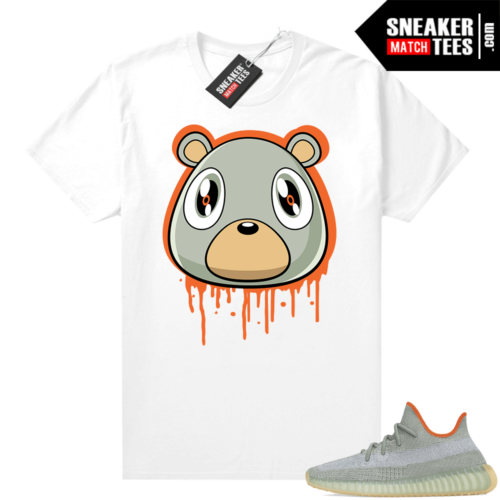 Desert Sage Yeezy 350 Shirt White Bear Drip