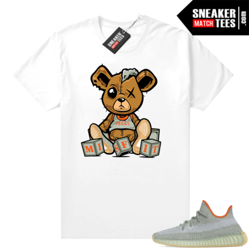 Desert Sage Yeezy 350 Shirt White Misfit Teddy