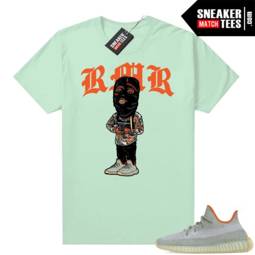 Desert Sage Yeezy shirt outfit RMR Mint