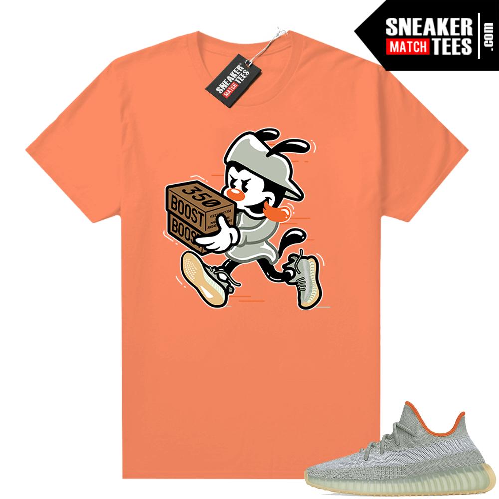 Desert Sage shirt Yeezy 350 Orange Double Up