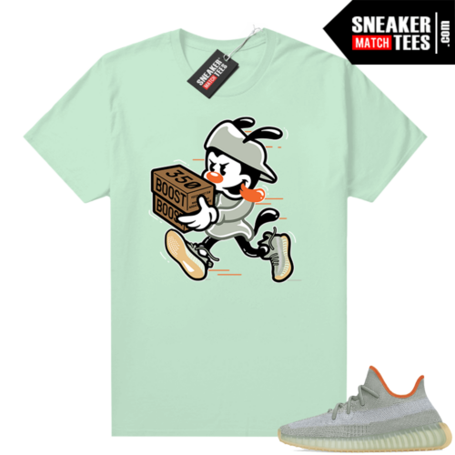 Desert Sage t-shirt Yeezy 350 Mint Double Up