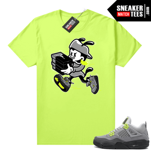 Jordan 4 Neon Air Max 95 sneaker tees Neon Double Up
